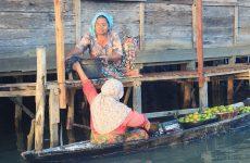 El Mercado Flotante de Banjarmasin