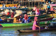 El Mecado Flotante de Banjarmasin